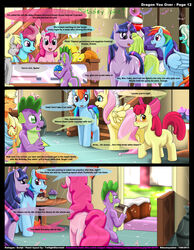 friendship_is_magic kitsune_youkai my_litte_pony pinkie_pie_(mlp) rainbow_dash_(mlp) spike_(mlp) twilight_sparkle_(mlp)