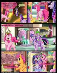 friendship_is_magic kitsune_youkai my_little_pony pinkie_pie_(mlp) spike_(mlp) twilight_sparkle_(mlp)