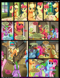 applejack_(mlp) friendship_is_magic kitsune_youkai my_little_pony pinkie_pie_(mlp) rainbow_dash_(mlp) spike_(mlp) tagme