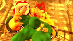 16:9 3d_(artwork) abdominal_bulge animated big_breasts big_dom_small_sub big_penis bodily_fluids bowser breast_grab breast_squeeze breasts digital_media_(artwork) drboumboom32 duo female female_penetrated flora_fauna hand_on_breast hi_res interspecies koopa lactating male male/female male_penetrating male_penetrating_female mammal mario_bros nintendo penetration penis piranha_plant plant pussy reptile scalie sex short_stack size_difference smaller_female sound source_filmmaker standing standing_sex straight vaginal vaginal_penetration video_games webm
