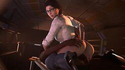 3d alien:_isolation alien_(franchise) animated brown_hair busty female female_focus hazard3000 hourglass_figure long_hair nina_taylor penetration ponytail sex tagme tied_hair vagina webm wide_hips