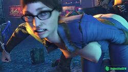 3d alien:_isolation alien_(franchise) animated areolae ass athletic breasts breasts_outside brown_eyes brown_hair bubble_butt busty butt doggy_style eyelashes fallout female female_focus fit fit_female from_behind from_behind_position glasses hourglass_figure long_hair male medium_breasts nina_taylor nipples ponytail tagme tied_hair unidentifiedsfm webm wide_hips