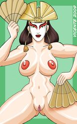 avatar_the_last_airbender female female_only human kyoshi solo tagme vicente