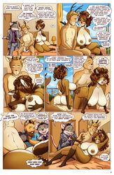 2019 anthro anthro_on_anthro antlers applebottom_family areola ass beard bent_over big_breasts black_nose blonde_hair blue_eyes bodily_fluids breasts brown_eyes brown_fur brown_hair camera catherine_applebottom cervid cervine clothing cloud comic cum domestic_cat duo english_text eyewear facial_hair felid feline felis fellatio female footwear fur genital_fluids glasses green_eyes grey_fur group hair hair_bun hi_res hollandworks horn inside jacket lips lying male mammal mature_female murid murine nature navel nipples no_humans nude on_back on_top oral orgasm penetration penile pink_lips pink_nose pussy rat reverse_cowgirl_position rodent sea sex smile spots sweat tan_fur text titjob topwear towel tree vaginal_penetration water white_fur wide_hips yellow_eyes yellow_fur zaftigbunnypress